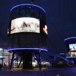 Exterior del O2 Arena en Londres.