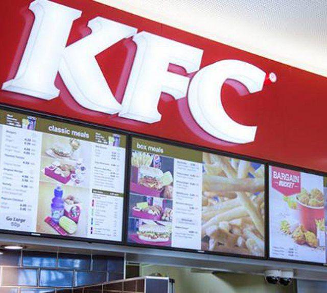 KFC Reino Unido e Irlanda