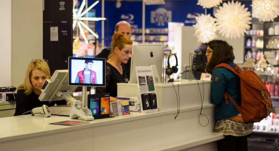 Sector retail y digital signage: cómo mejorar la experiencia de compra