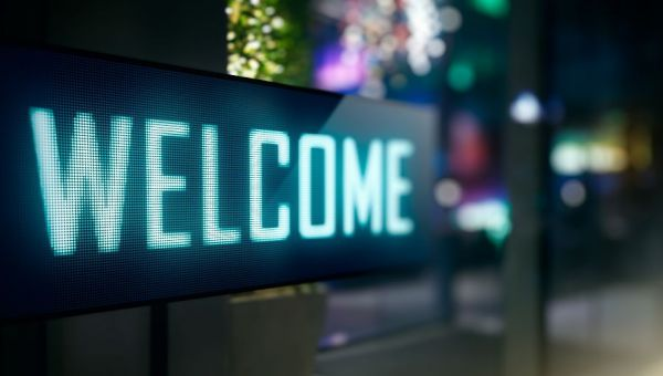 Digital-Signage-welcome