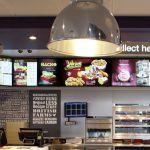 KFC digital menu board