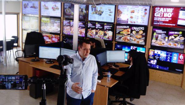 Reportaje Maler Digital signage